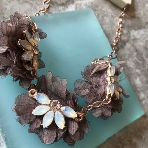 A New Day Frontal with Chiffon Florals Necklace